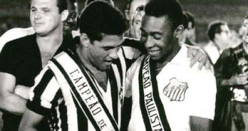 Garrincha Pele